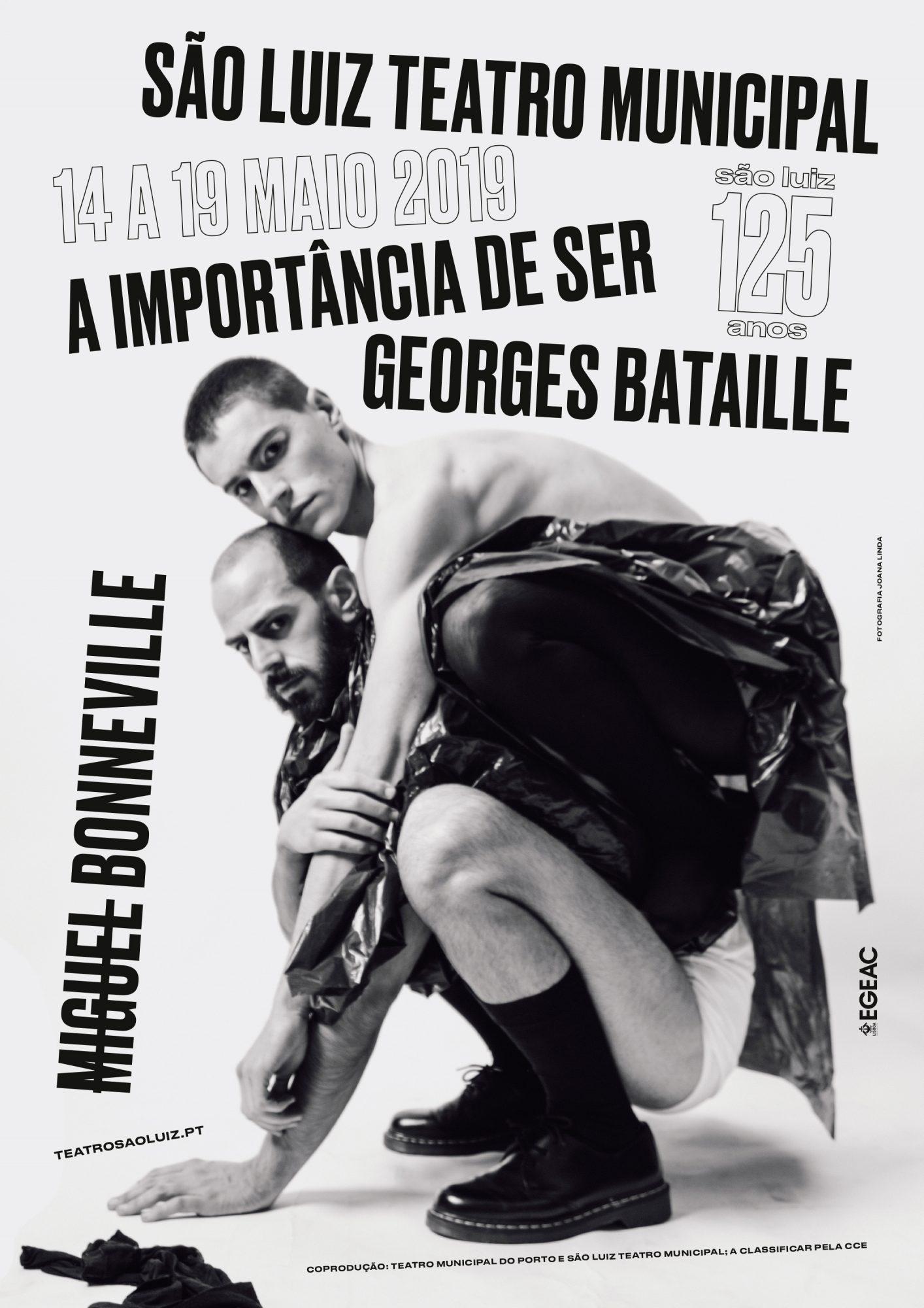A Importância de Ser Georges Bataille, maio 2019