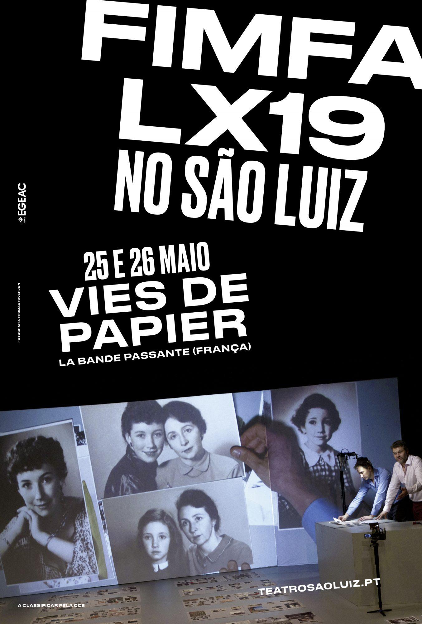 Vies de Papier, FIMFA LX19, maio 2019