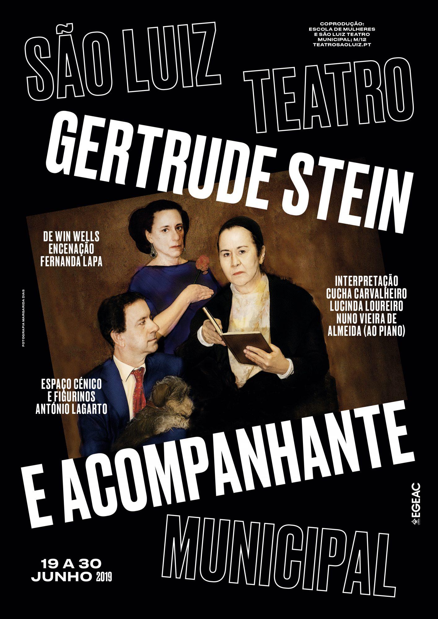 Gertrude Stein e Acompanhante, junho 2019