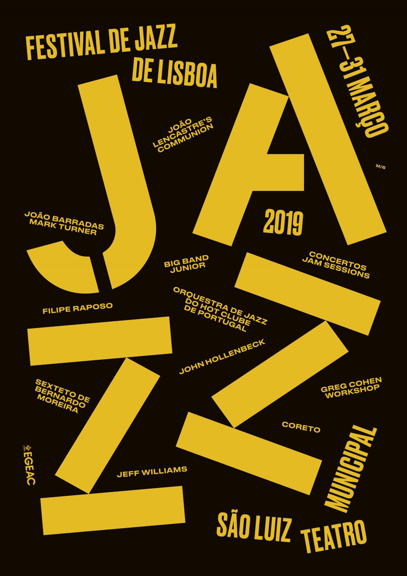 Festival de Jazz de Lisboa (versão 1), março 2019