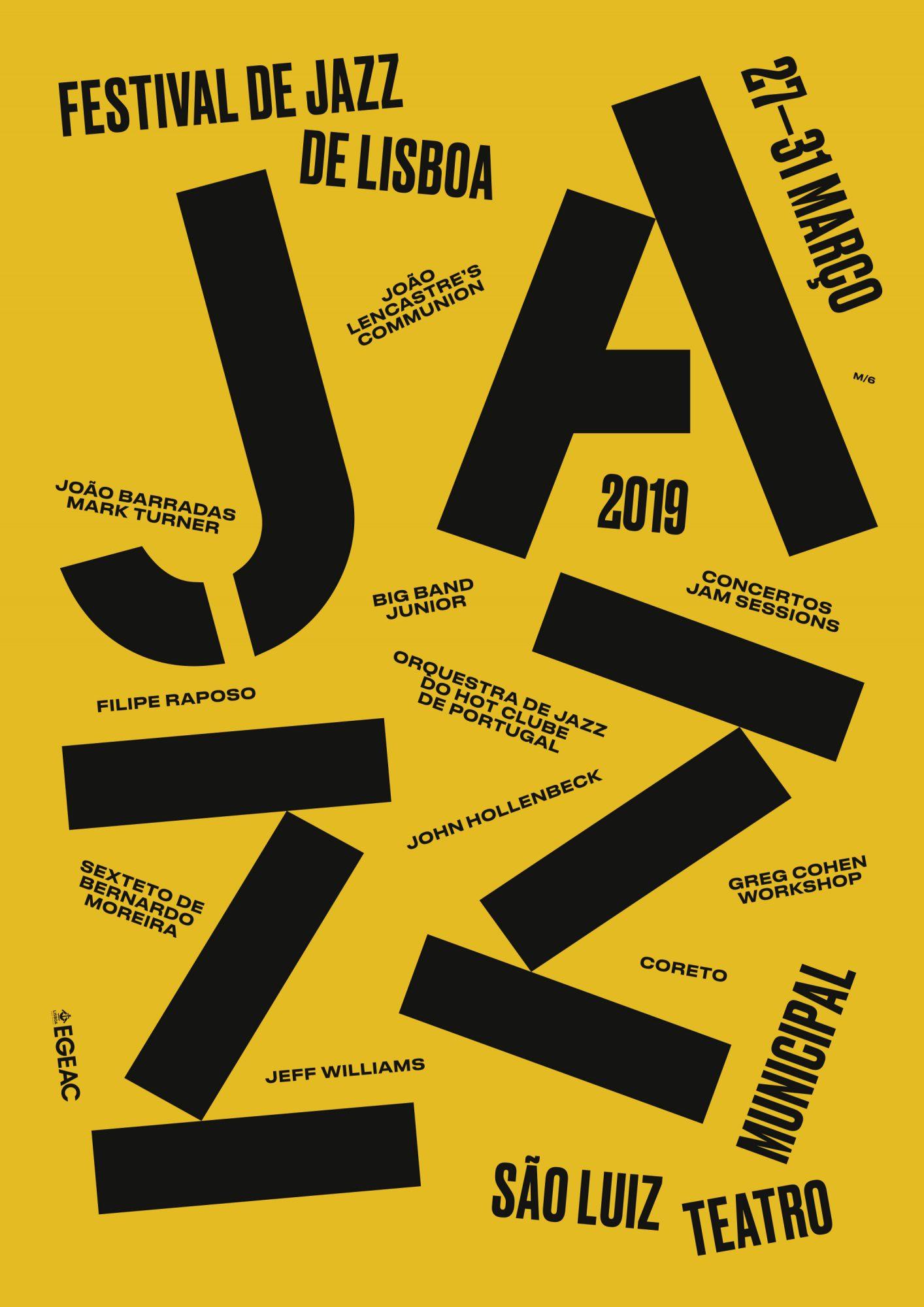 Festival de Jazz de Lisboa (versão 2), março 2019