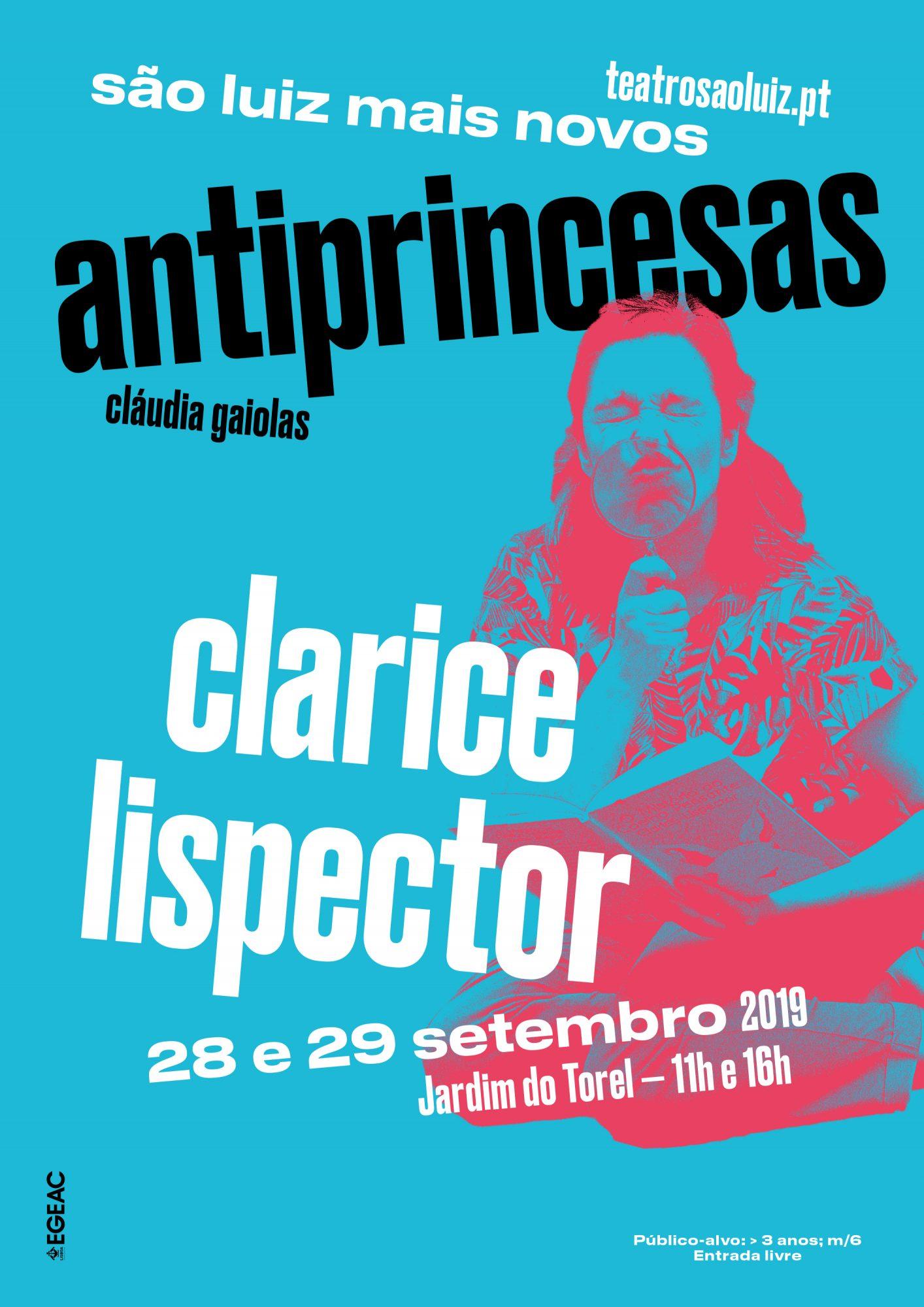 Antiprincesas - Clarice Lispector, setembro 2019