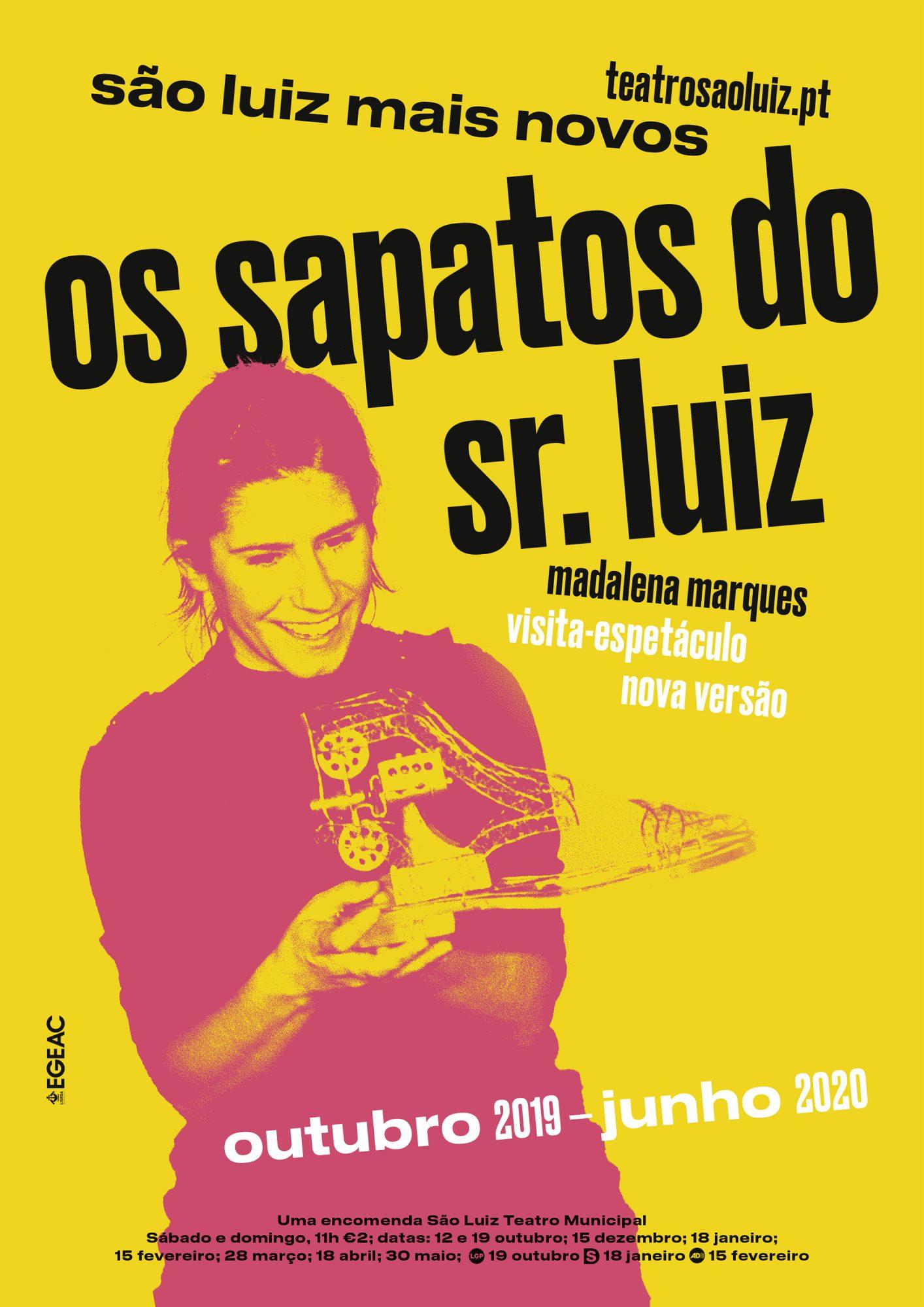 Os Sapatos do Sr. Luiz, outubro 2019